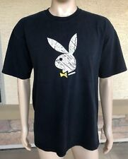 Vintage Playboy Bunny T Shirt Los Angeles West Hollywood Beverly Hills USA XL