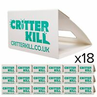 18 X ANT TRAPS KILLS ANTS CATCHER GLUE TRAP CRAWLING INSECT KILLER POISON FREE