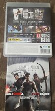 JUST CAUSE 2 / SLEEPING DOGS / TOMB RAIDER PLAYSTATION 3 PS3 3 GAMES ON 1 DISC