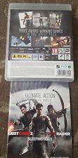 Giusta Causa 2/Sleeping Dogs/TOMB RAIDER PLAYSTATION 3 PS3 3 giochi su disco 1