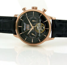 INGERSOLL GERMAN DESIGN AUTOMATIC ROSE GOLD LAYERED 44mm LEATHER IN1709RBK
