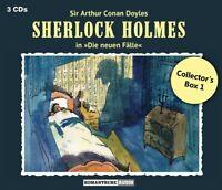 DIE NEUEN FÄLLE: COLLECTOR'S BOX 1 (3 CDS) - SHERLOCK HOLMES  3 CD NEU