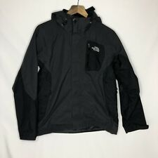 Mens The North Face Varius Guide Jacket HyVent Shell Ski Coat in Gray & Black M