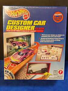 Hot Wheels Custom Car Designer CD-rom/WHITE VW DRAG BUS