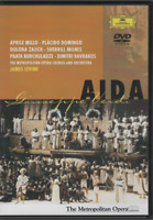 Opéra Aida Verdi James Levine GD Dvd Placido Domingo Aprile Millo