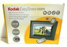 "Digital Picture Frame Kodak Easy Share EX811 Wireless Changes Photos 8"" WiFi"