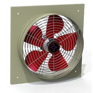 300mm Absauglüfter Absaugventilator Absauggebläse Raumlüfter Ventilator 2250m³/h