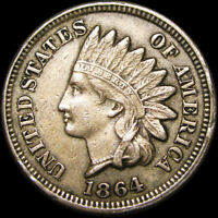 1864 Copper Nickel Indian Head Cent Penny ---- TYPE COIN ---- #C930