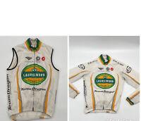 Castelli Men's Size Medium Jacket Vest Long Sleeve Full Zip Cycling Team Oregon