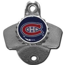 Montreal Canadiens Wall Mount Bottle Opener Zinc Aluminum Alloy NHL NEW!!