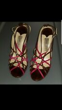 Jimmy Choo Strappy Heels Sandals Size 40/US 10