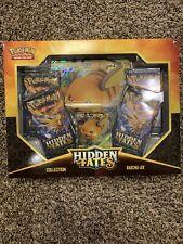 Pokemon Hidden Fates Raichu Gx Box. Free Shipping!