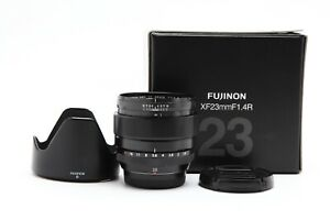 Excellent Fuji FUJIFILM XF 23mm f1.4 R Lens with Box #33141