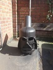 Gas bottle wood burner darth vader !!