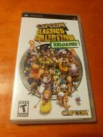 Capcom Classics Collection Reloaded PlayStation Portable PSP Capcom