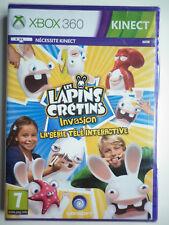 Les Lapins Crétins Invasion la série télé interactive Jeu Vidéo XBOX 360