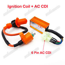 Racing Ignition Coil AC CDI Box For GY6 50cc-150cc ATV Quad Go Kart Cart Scooter