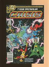 """Crisis On Infinite Earths 1 VF 8.0 * 1 * """"Death"""" of Crime Syndicate! Newssatand!"""
