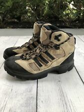 Adidas Geofit Speed Grip Hiking Trail Shoes Womens 8 Tan Suede Leather 351715