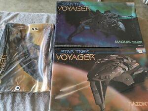 Lot 688 - 3 Star Trek Ships, Kazon, Marquis, Torpedo - Monogram - New