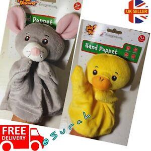 Animal Wildlife Hand Glove Puppet Soft Plush Puppets Kid Children Toy Gift 🇬🇧
