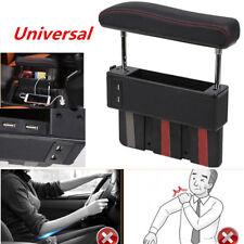 Latest For Car Driver Seat Pocket Storage Armrest Box Organizer Holder w/ USB