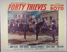FORTY THIEVES,William Boyd,Andy Clyde,Jimmy Rogers,lc #6, 817