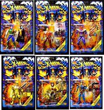 Toy Biz Marvel Comics X-Men Mutant Gensis 6 Action Figure Set New 1996