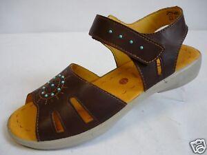 RICOSTA Keye Mädchen Schuhe 33 Sandalen Leder Braun NEU