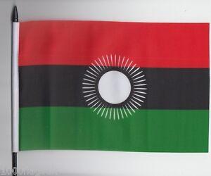 Malawi 2010 to 2012 Medium Hand Waving Flag