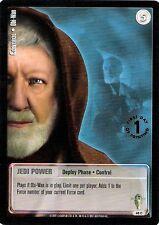 Star Wars Jedi Knights Scum and Villainy TCG 48C Control Obi-Wan First Printing