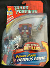 TRANSFORMERS FACT ACTION BATTLERS POWER HOOK OPTIMUS PRIME 2006 NEW SEALED