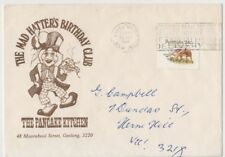 Stamp Australia 24c Tasmanian Tiger Mad Hatter's Birthday Club Wagga Wagga cover