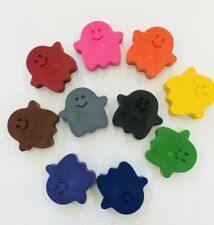 50 Halloween Ghost Crayons Birthday Party Favors Teacher Supply Trunk or Treat