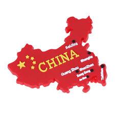 china flag map 3d fridge magnet refrigerator sticker travel gift souvenir JCFA