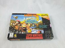 Donkey Kong Country 3: Dixie Kong's Double Trouble SNES Complete in Box CIB