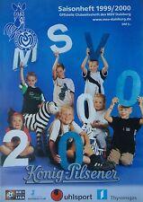 Programm Saisonheft 1999/00 MSV Duisburg