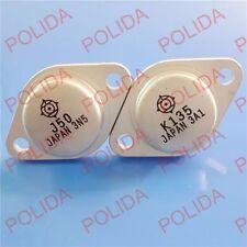 1 Pair Transistor Hitachi to-3 2sk135/2sj50 k135/j50