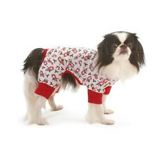 Holiday style Candy Cane Pajama for Dogs - XS - S - M - Comfortable  PJ's