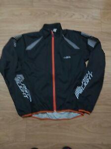 DHB Flash light Waterproof HOODED CYCLING Jacket Size XS