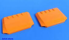 LEGO nr-4505118/4x6 2/3 véhicule utilitaire / Auto Toit ORANGE / 2 pièces