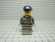 Lego Figur World City Polizist Security Guard wc003  7033