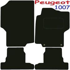Qualità Su Misura Deluxe Tappetini auto Peugeot 1007 2005-2009 ** NERO **