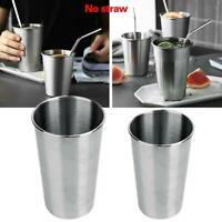 Edelstahl Saft Glas Bier Glas Tassen Trinkbecher Küche Bar Versorgung Beste