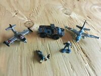 Micro Machines 1997-1998 #13 Dagger Division Complete Set w/Infantry Loose Lot
