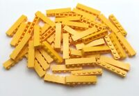 Lego 50 New Bright Light Orange Bricks 1 x 6 Dot Stud Bricks Pieces