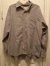 J Crew Men Plaid Shirt Brown Multi XL longsleeve