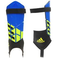 adidas Mens X Club Shin Guard Stripe Wrap Around