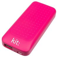 Kit 4000mAh Essentials Range Universal Portable Power Bank with Two USB Ports -
