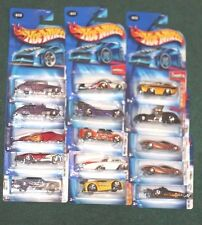 15 Hot Wheels 2004 First Edition Toy Die Cast Car Lot Unopened Carded